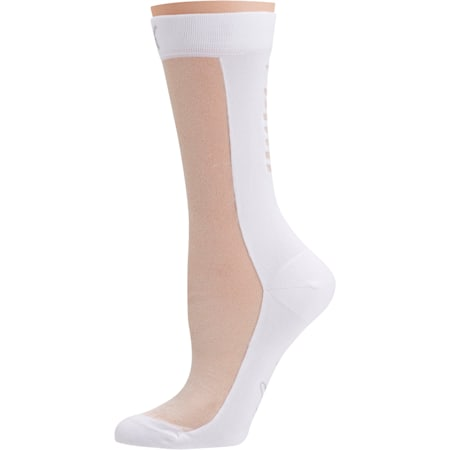 PUMA x SG Transparent Front Crew Socks (1 Pack), white, small-SEA