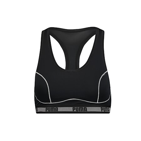 PUMA Padded Racerback Women's Top (1 pack), black, small