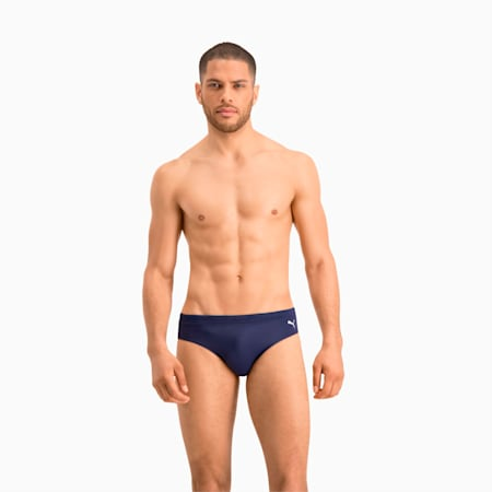 Swim Classic Men's Swimming Brief, navy, small
