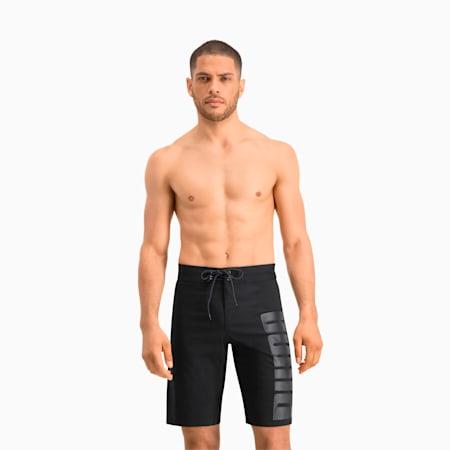 Swim Men's Long Boardshorts, black, small
