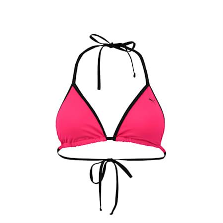 Swim Women's Triangle Bikini Top, pink, small