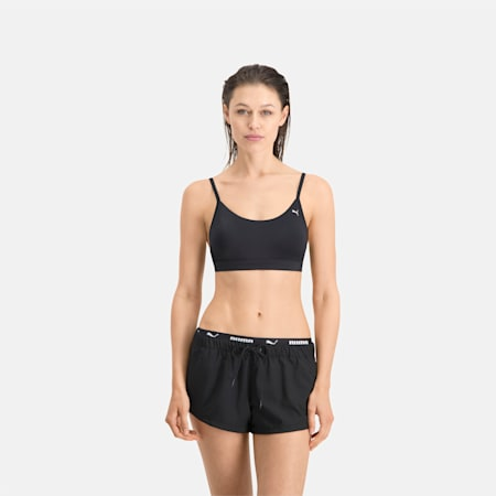 PUMA Swim Damen Boardshorts, black, small