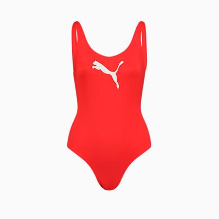 Maillot de bain PUMA Swim pour femme, red, small