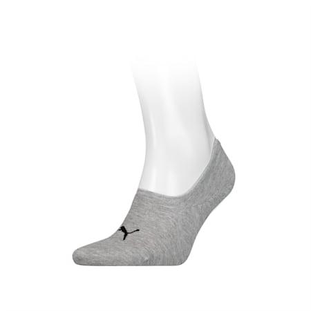 PUMA Footie 1 pack Socks, drizzle melange, small-SEA