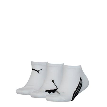 PUMA Kids Sneaker Socks 3P, white, small-SEA