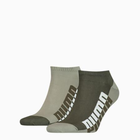 Men's Seasonal Sneaker Socks 2 pack, green, small-GBR