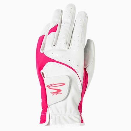 Damska lewa rękawiczka golfowa MicroGrip Flex, WHITE, small