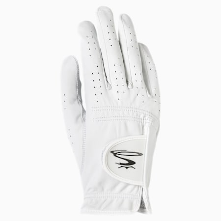Pur Tour Right Hand Men's Golf Glove, WHITE, small