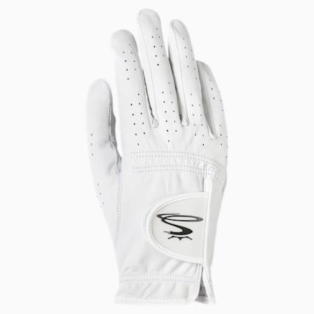 Pur Tour Right Hand Men's Golf Glove, WHITE, small