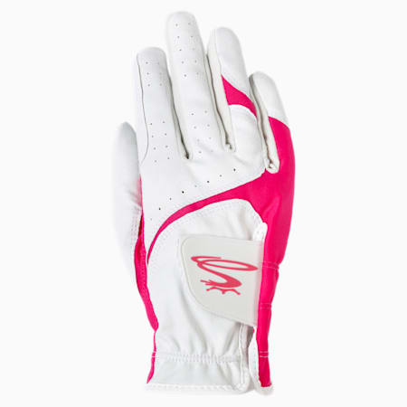 Guanti da golf MicroGrip Flex Right Hand donna, WHITE, small
