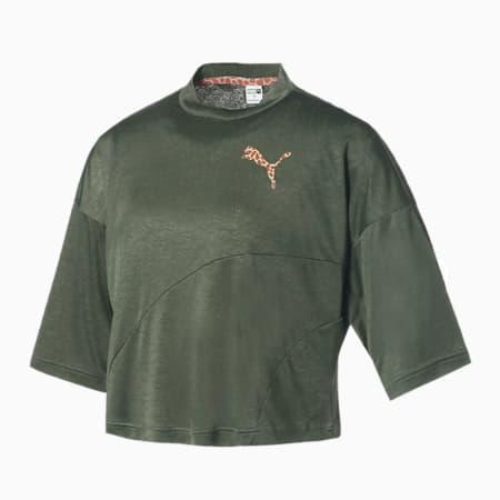 PUMA x NICORON ウィメンズ Tシャツ, Thyme, small-JPN