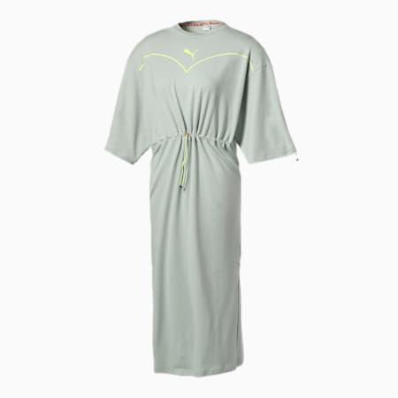PUMA x NICORON ウィメンズ ドレス, Aqua Gray, small-JPN