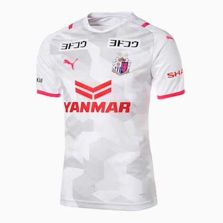 セレッソ 2021 アウェイ 半袖 ゲームシャツ ユニフォーム, WHITE, small-JPN