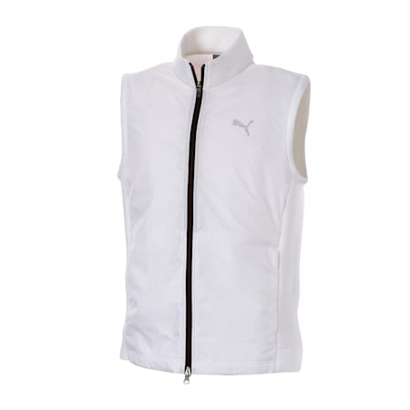 ゴルフ PUMAロゴ ウィンドブロック ベスト, Bright White, small-JPN