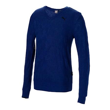 ゴルフ カモ Vネック セーター, Sodalite Blue, small-JPN