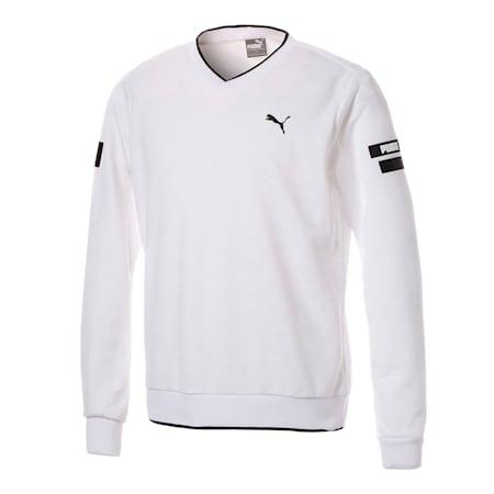 ゴルフ ヘリテージ ニット プルオーバー, Bright White, small-JPN