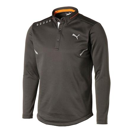 ゴルフ CA LS ポロシャツ 長袖, Dark Gray, small-JPN
