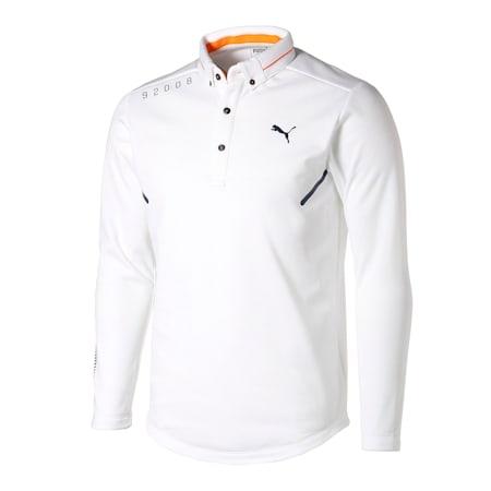 ゴルフ CA LS ポロシャツ 長袖, Bright White, small-JPN