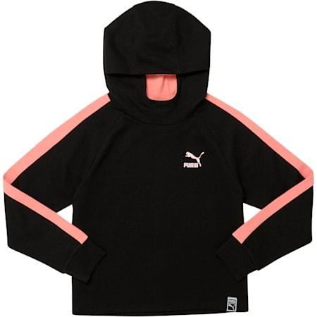Girls' Pullover Hoodie JR, PUMA BLACK, small