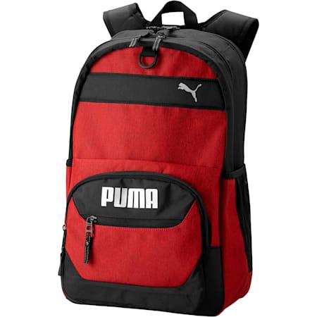 PUMA Everready Backpack, Red/Black, small