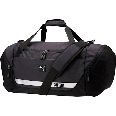 PUMA Formation 2.0 Duffel Bag, Black, small