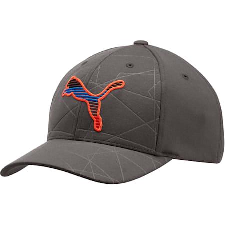 PUMA Uprising Flexfit Hat, Medium Gray, small