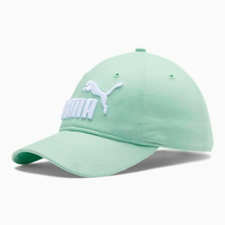 PUMA #1 Relaxed Fit Adjustable Hat, Light Pastel Green, small