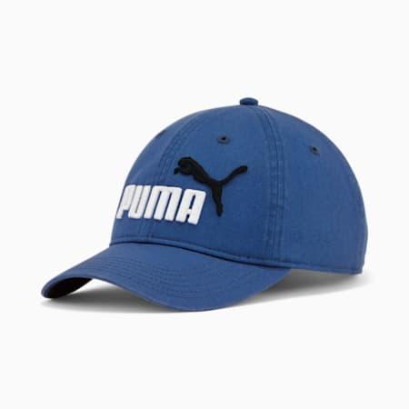 Gorra ajustable de corte holgado PUMA N.º 1, Azul, pequeño