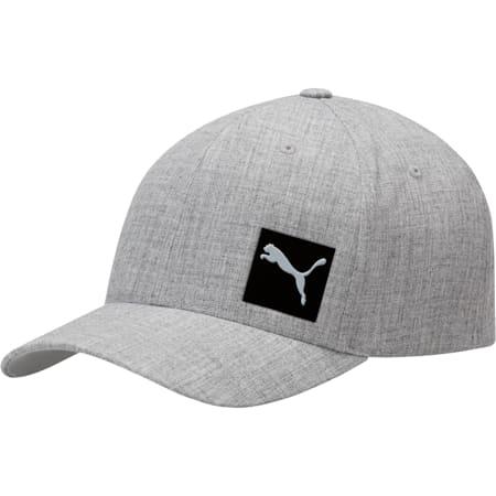 Decimal FLEXFIT Cap, Medium Gray, small