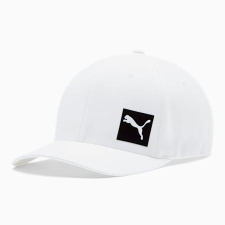 Decimal FLEXFIT Cap, White/Black, small