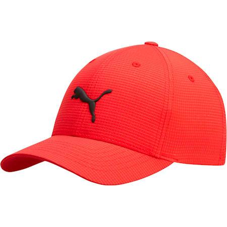 Cubic FLEXFIT Cap, Red/Black, small