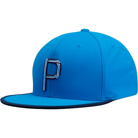 Compound P Snapback, Blue, small
