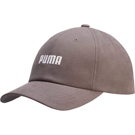 Emblem Relaxed Fit Adjustable Dad Cap, Charcoal, small