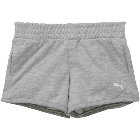 Toddler French Terry Shorts, LIGHT HEATHER GREY, small