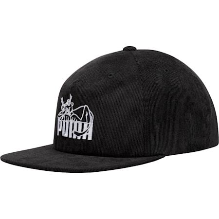 Core Super PUMA Flat Brim Hat, Black, small