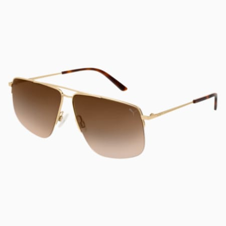 The Weekender Sunglasses, GOLD, small
