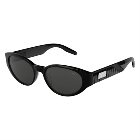 Victoria Beach Cat Eye Sunglasses, BLACK-BLACK-SMOKE, small