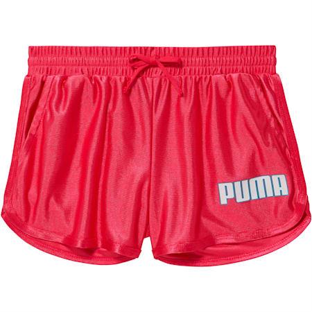 Girls' Dazzle Shorts JR, FUCHSIA PURPLE, small
