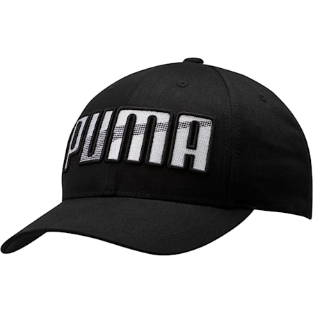 Ringer Snapback, Black, small