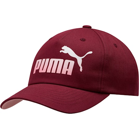 Ombre Women's Dad Cap, Burgundy, small