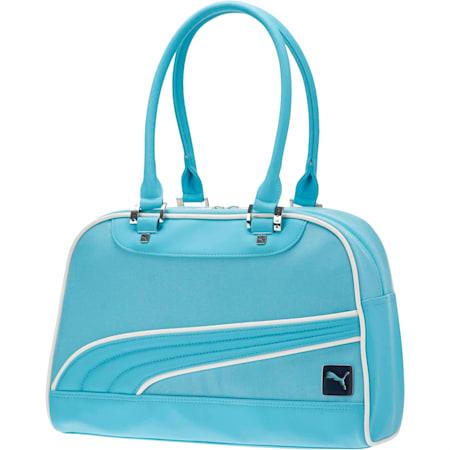 Women's Mesh Grip Shoulder Bag, Blue, small