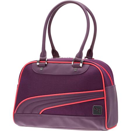 Women's Mesh Grip Shoulder Bag, Purple/Pink, small