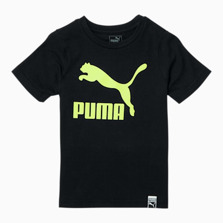 Classics Pack Archive Toddler Logo Tee, PUMA BLACK, small