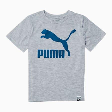 Ensemble Classics T-shirt à logo Archive, jeune enfant, GRIS BRUYÈRE PÂLE, petit