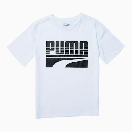 Ensemble Rebel T-shirt graphique, garçon, enfant, BLANC PUMA, petit