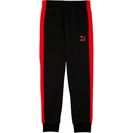 Boys' T7 Track Pants JR, PUMA BLACK, small