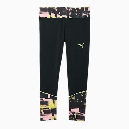 Be Bold Little Kids' AOP Fashion Leggings, PUMA BLACK, small