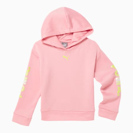Chase Toddler Fleece Hoodie, BRIDAL ROSE, small