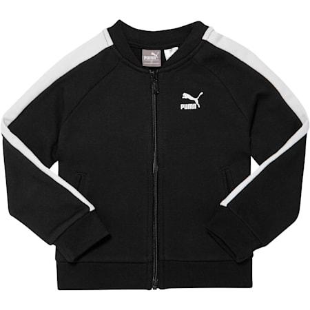 Toddler T7 Track Jacket, PUMA BLACK, small