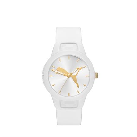 Reloj para mujer Reset Polyurethane V2, White/White, small